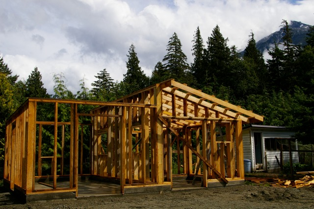 Cost of a pole barn estimates and prices paid autos post for Shed construction cost estimator